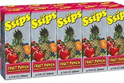 SSIPS FRUIT PUNCH 4/10 PK