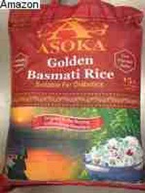ASOKA GOLDEN BASMATI RICE 15 LB (120 CASES PER PALLET)