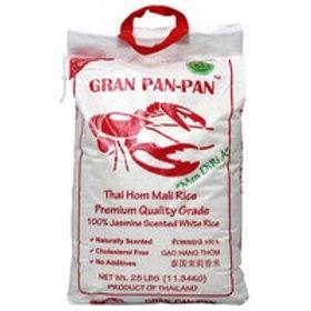 GRAN PAN PAN JASMINE WHIT 1/20 (120 CASES PER PALLET)