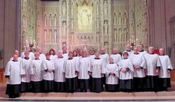 In front of the High Altar