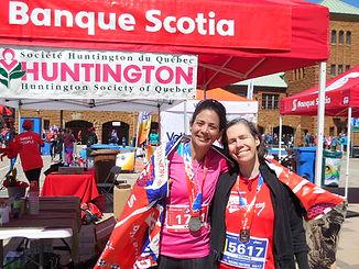 Participantes au défi Banque Scotia pour la Société Huntington du Québec
