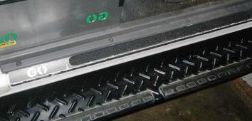 GO Foot : Door Sill / Foot Protector Land Cruiser (Set)