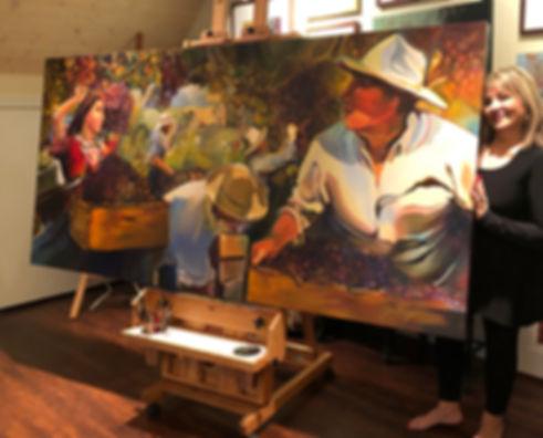 Kaprielian painting and me 2 FB.jpg