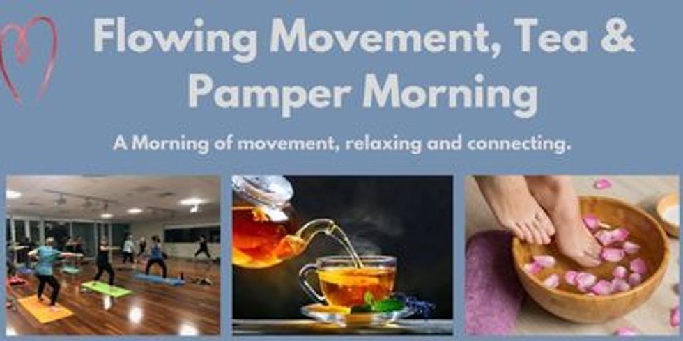 Flowing Movement, Tea & Pamper Morning