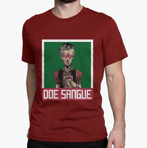 Camiseta - Doe Sangue (Wado)