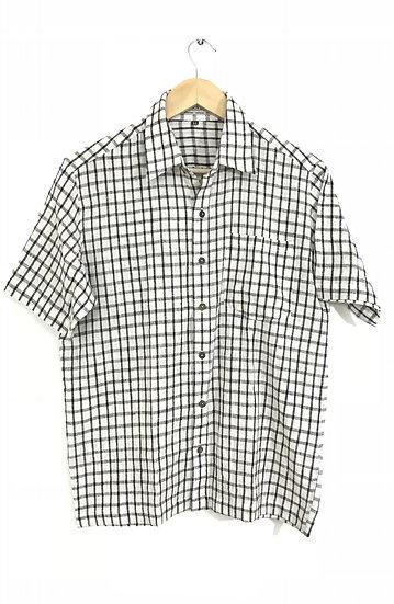 Black Small Checks Shirt