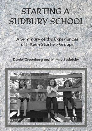 Starting a  Sudbury School