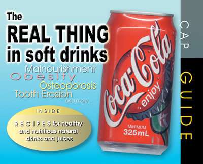 The Real Thing In Soft Drinks