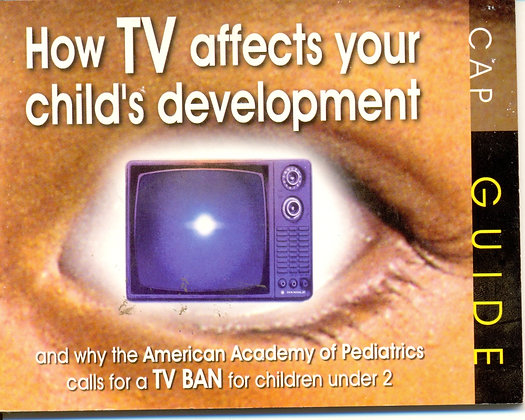 How TV Affects Your Child's Development