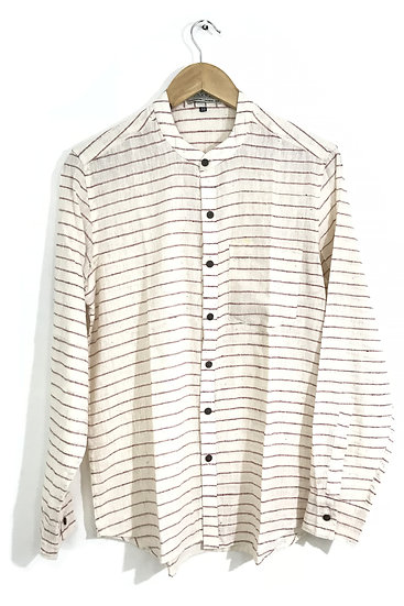 Red Horizontal Striped Shirt