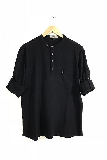Black Short Kurta