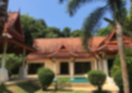 Rent or lease a house or villa in Khao lak, Thailand.