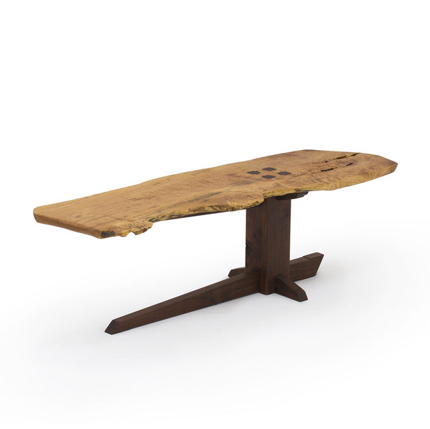 Nakashima Inspired Sitting Bench/Coffee Table