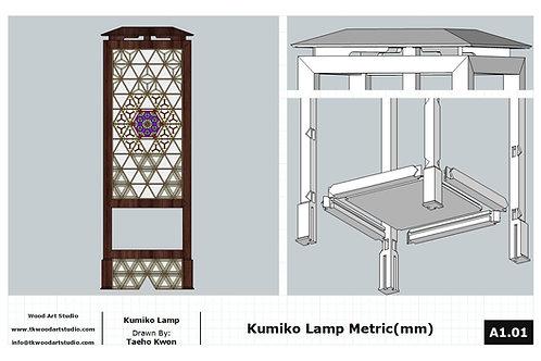 Kumiko Lamp Metric(mm) PDF