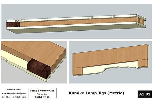 Jig plan for Kumiko Lamp (Metric)