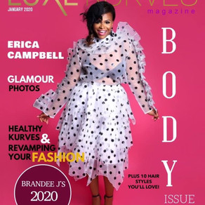 "A New Decade: LUXE KURVES MAGAZINE JANUARY 2020 ""BODY"" ISSUE FEATURE"
