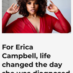 "Erica's Plus Model Mag ""Love Your Body Month"" Feature"