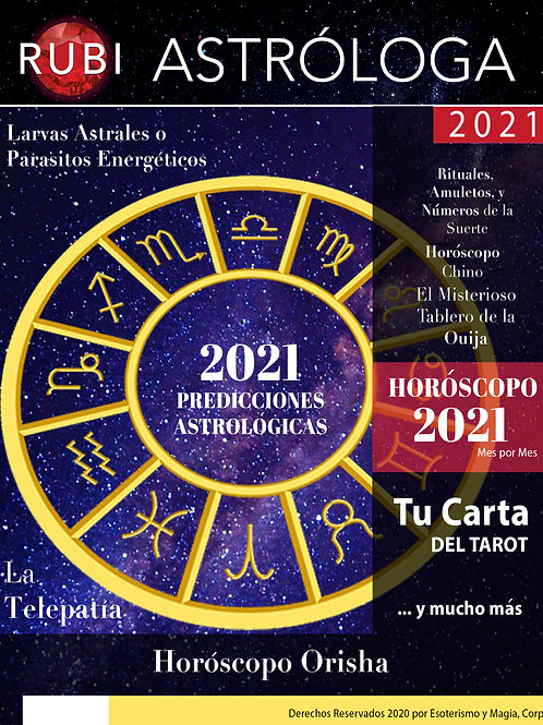 Anuario Astrológico 2021 Digital