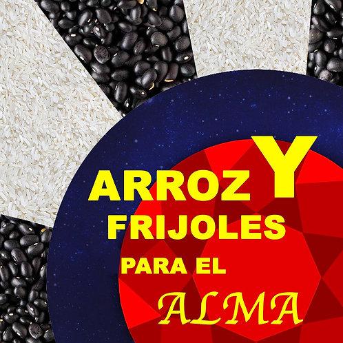 Arroz y Frijoles para el Alma. Disponible en Español e Inglés.