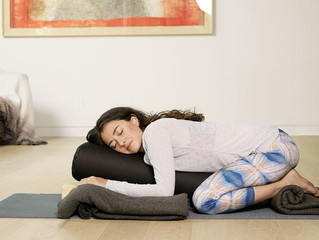 Deep Gratitude & Why A Restorative Yoga Practice This Winter Is So Essential