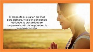 Gratitud y Prosperidad