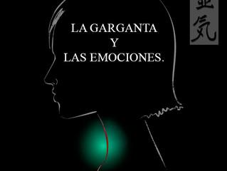 LA GARGANTA Y LAS EMOCIONES.