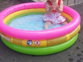 夏だ、海だ、いや、プールだ!!