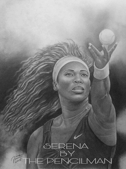 Serena Williams 16x20 limited edition