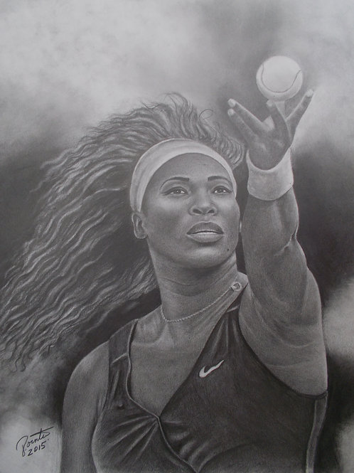 Serena Williams 18x24 limited edition