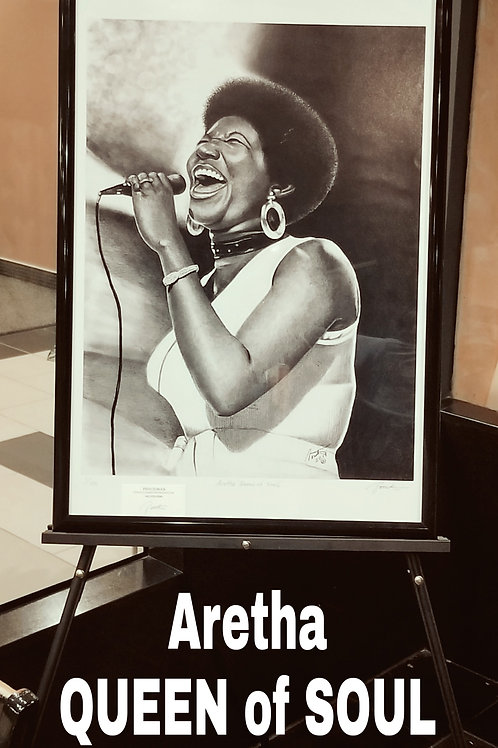 Queen of Soul unframed size 20x30 limited edition