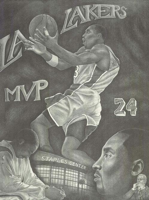 16x20 Kobe MVP limited edition print
