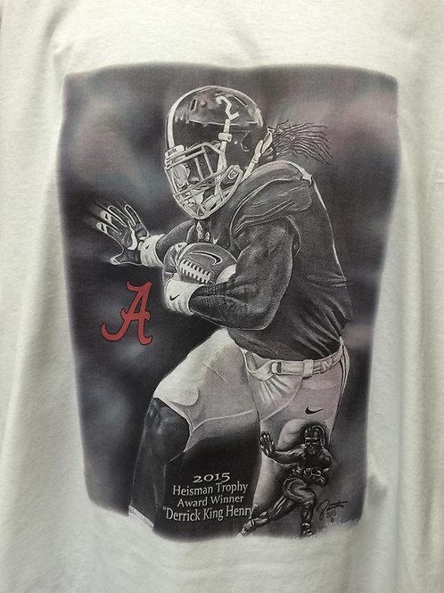 Derrick King Henry male t-shirt
