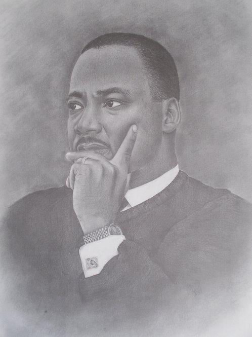 1989 Dr MLK Jr 20x30 limited edition print