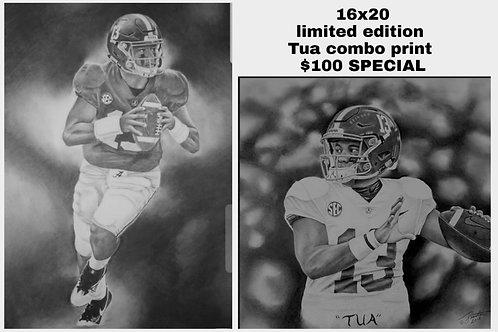 TUA 16x20 limited edition print combo
