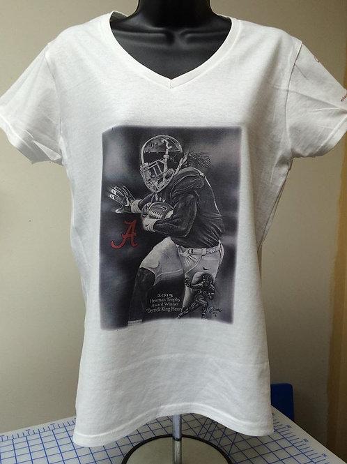Female Derrick King Henry female t-shirt