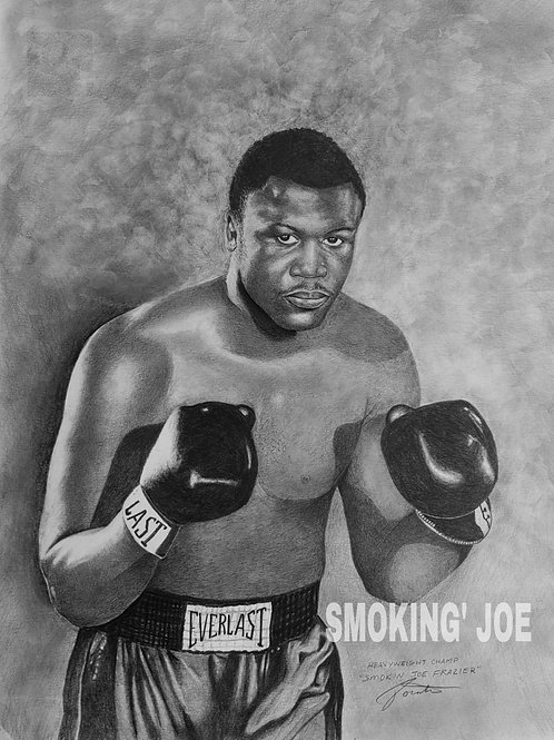 SMOKIN JOE FRAZIER 16X20