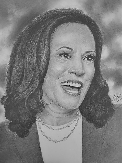 Kamala Makes History 18x24  limited edition