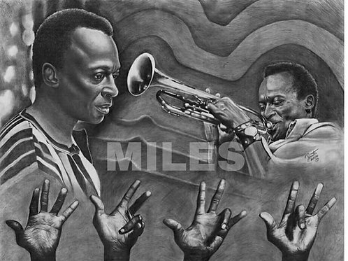 Miles Davis 22x28 limited edition prints