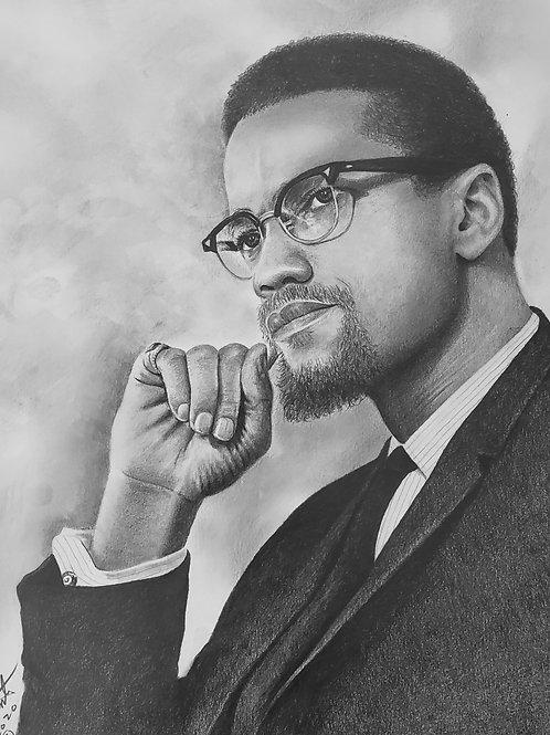 Malcolm X 16x20 limited edition print