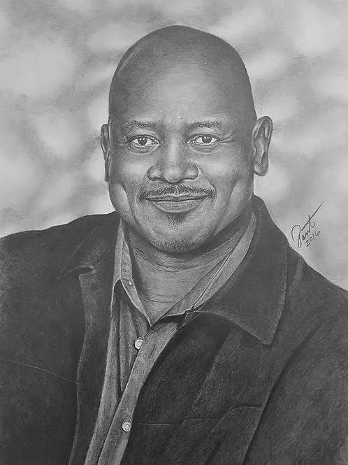 Pencilman The Artist 16x20