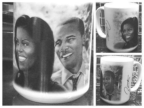 Obamas 15oz 4 piece mug set