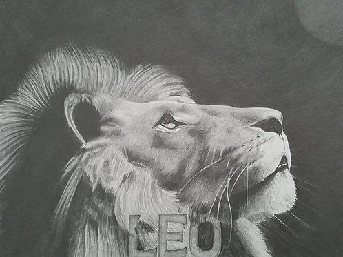 Leo 20x30 limited edition print