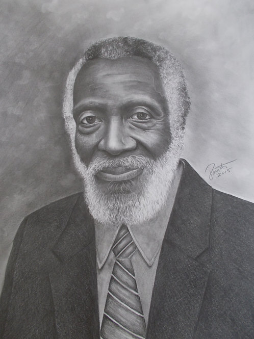 Dick Gregory 16x20 limited edition print