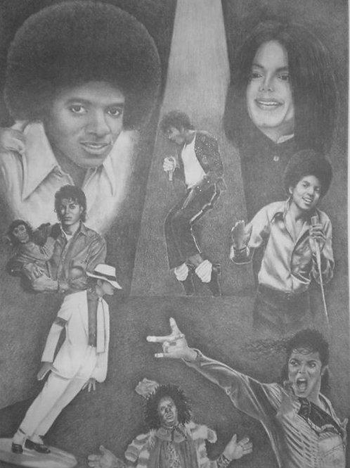 Michael Jackson 18x24 limited edition print