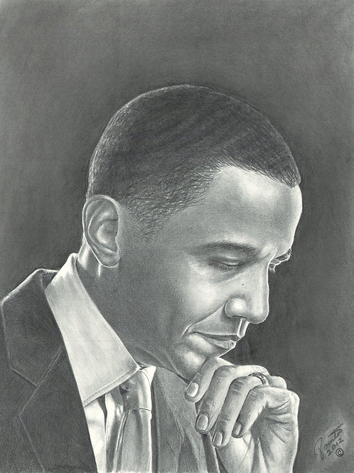 Mr 44th President Obama 16x20 limited edition