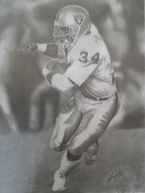 Bo Jackson 18x24 autographed