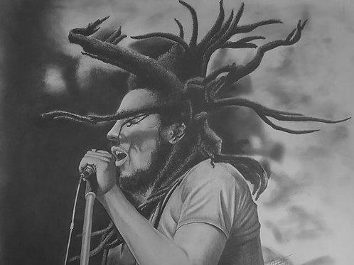 Bob Marley 20x30 limited edition print