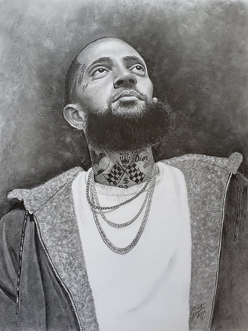 Nipsey Hussle size 22x28 limited edition