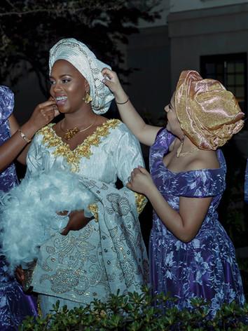 Makeup check  African Wedding