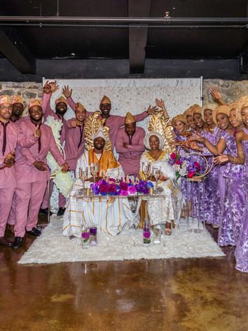 Togolese Nigerian Bridal Party Maryland